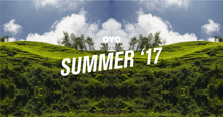 OYO Summer '17 – It's time to go places