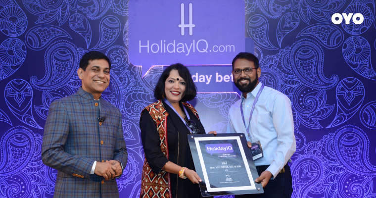 OYO voted the Most Promising Hotel Network